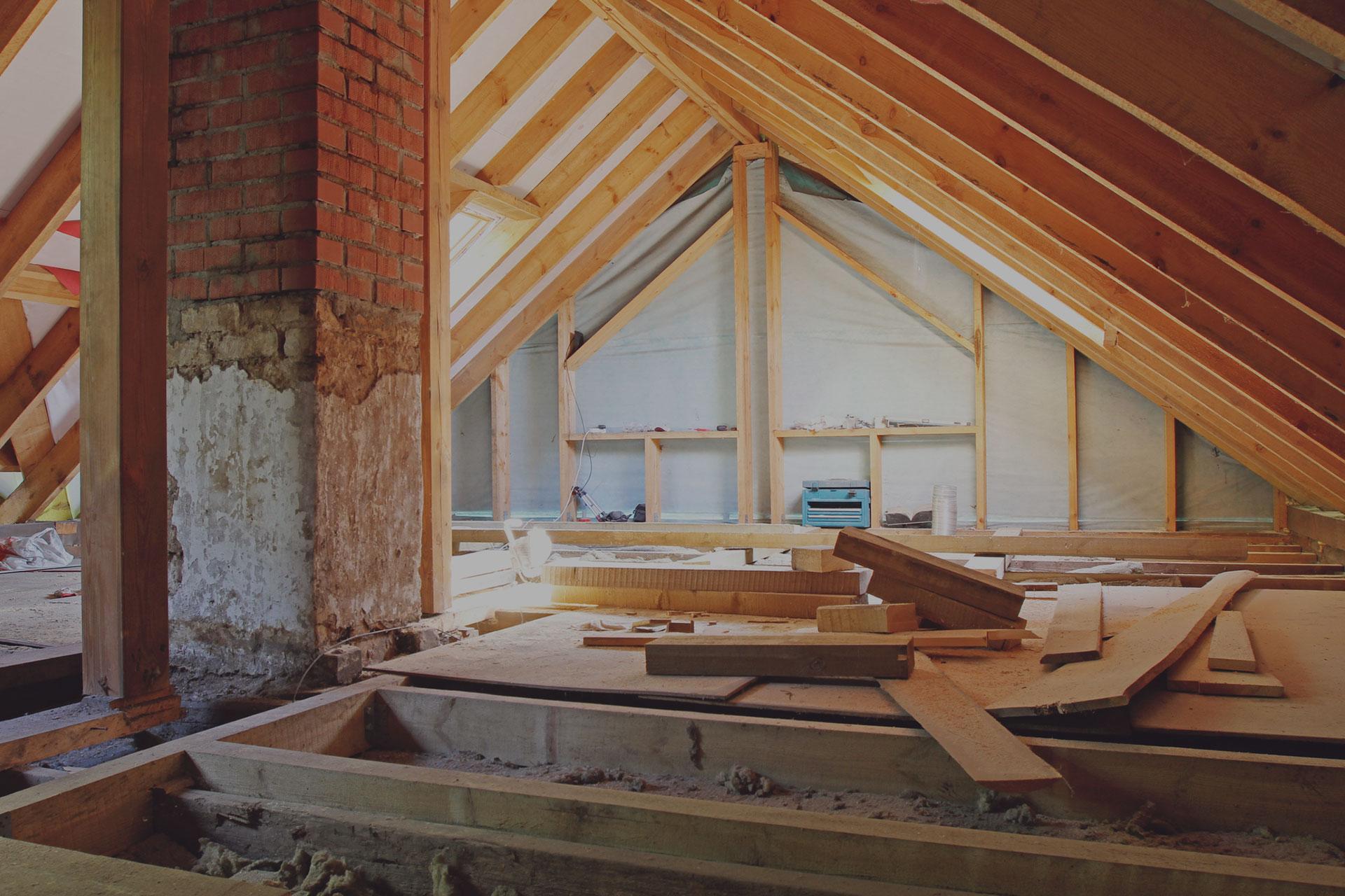 Attic construction